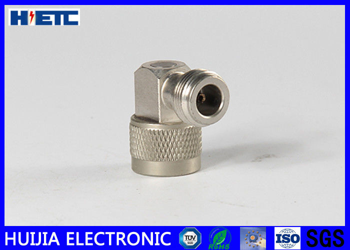 N Type Male To Female R/A RF Connector Adapter With Brass Body Gold Plated
