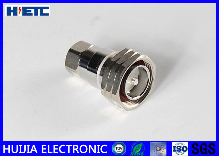 "RF 7/16 DIN Straight Male Connector Telecom Accessories For 1/2"" Feeder Cable Electronic Parts"