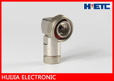 "1/2"" Feeder Coaxial Cable Communication Telecom Accessories 7/16 DIN Male Right Angle Connector Adapter"